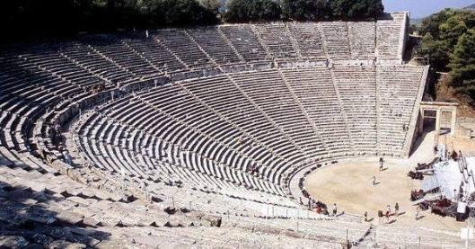 Το Αρχαίο Θέατρο της Επιδαύδρου!