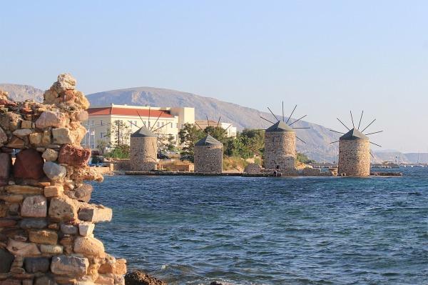 Ανεμόμυλοι στη Χίο