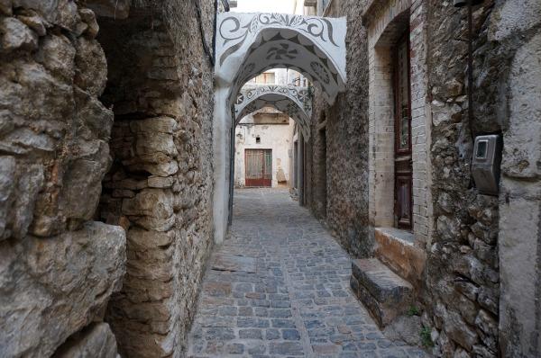 Μεστά μεσαιωνικός οικισμός Χίου