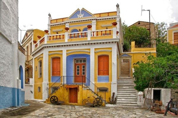 Παραδοσιακή κατοικία Σύμη