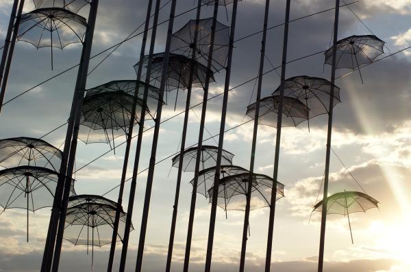 Περαία Θεσσαλονίκης - Ομπρέλες