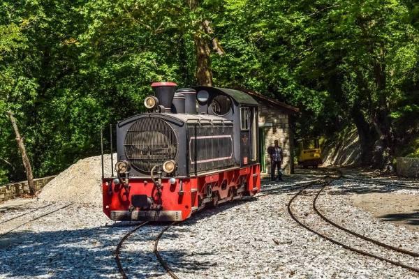 Τρένο στο Πήλιο